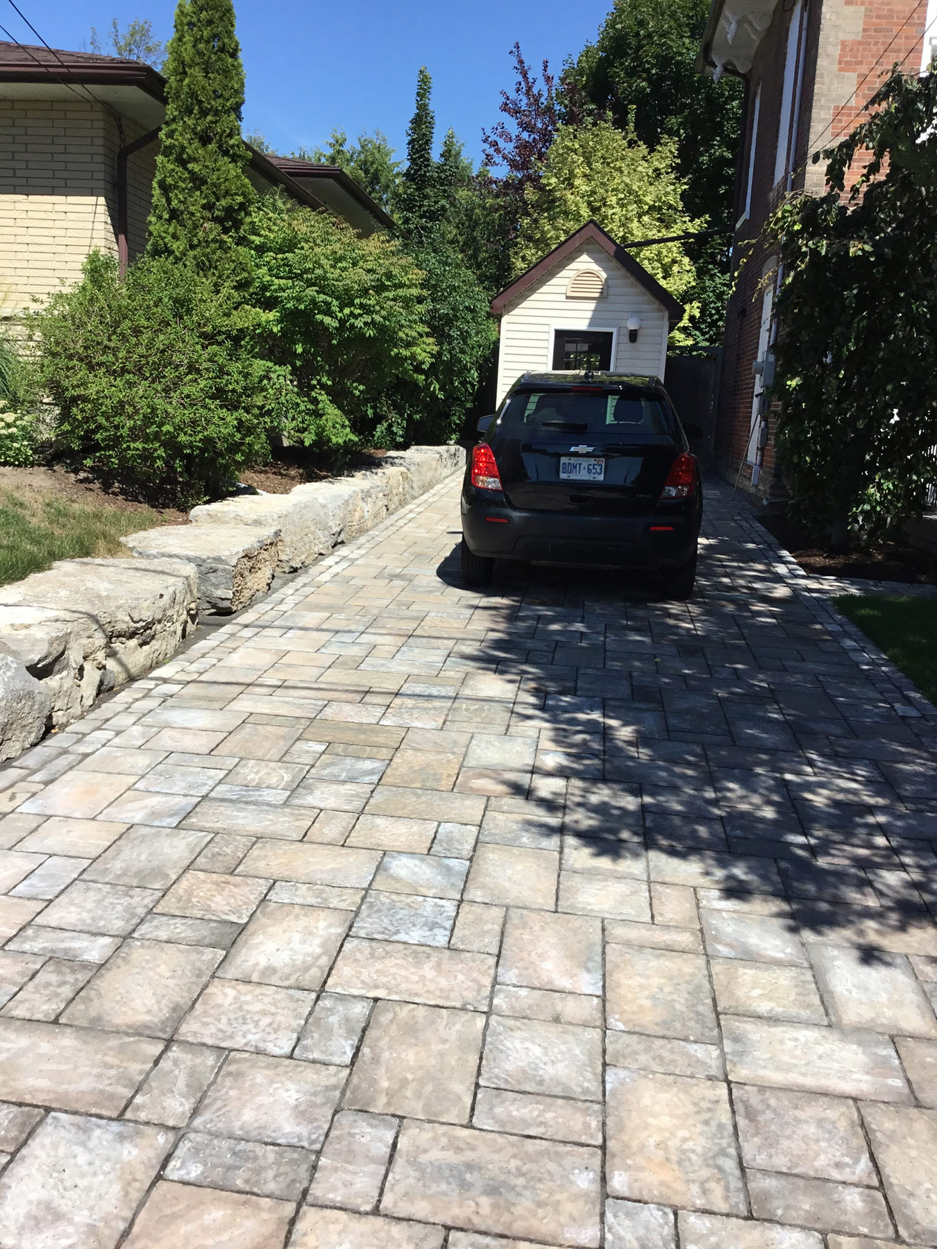 landscaping driveway